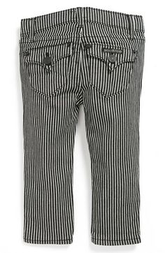 Hudson Kids Stripe Skinny Jeans (Toddler Girls) available at #Nordstrom