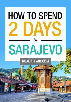 2 Days in Sarajevo: The Perfect Sarajevo Itinerary Travel Tips England, London England Travel, Italy Travel Tips, Backpack Europe Route, Backpacking Europe, Bósnia E Herzegovina, Top Europe Destinations, Germany And Italy, Culture Travel