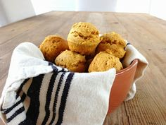 Pumpkin Cornbread Mini Muffins (gluten free)- perfect for Thanksgiving
