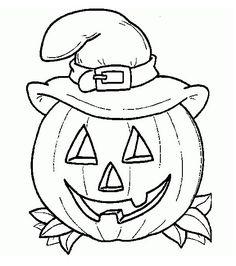 En un rincón de mi aula de Infantil: Coloreamos Halloween