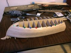 Continuing with first layer of planks Rc Boot, Model Ships, Planks, Santa Maria, Boats, Concept Ships, Planking, Boards, Virgin Mary