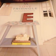 Upcycled Table Love Triangle Mollie Makes 63
