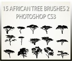 free vector art tree silhouette tattoo free tree silhouette and rh pinterest com south african tree tattoo african acacia tree tattoo