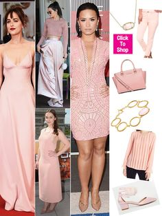 The Pantone Color Institue released the color of spring and it is officially, rose quartz! This pretty pink hue has been spotted on the runway and in stores, and we love it! You can try 10 different ways to rock the pretty shade.