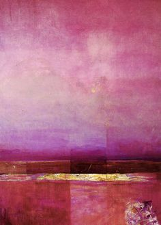 "Saatchi Online Artist: Grosaru Marcel; Mixed Media Painting ""Paysage Métaphysique"""