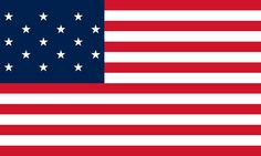 15 Star U.S. Flag: used for 23 years (1795-1818)