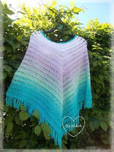 Crochet Poncho, Crochet Top, Crochet Hats, Free Pattern, Crochet Patterns, Peta, Women, Fashion, Knitting Hats
