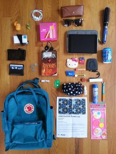 What's in my kanken? #kånken #kanken #whatsinmybag #fjallraven #fjällrävenkånken #sanfrancisco