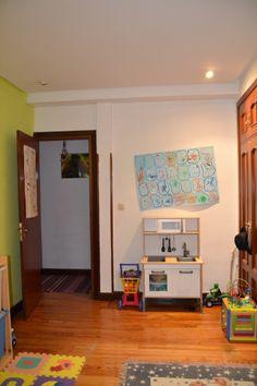 Dormitorio de juegos para los niños