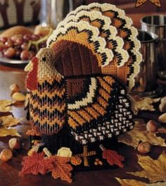Plastic Canvas Turkey - I've made one of these before, still have the pattern.