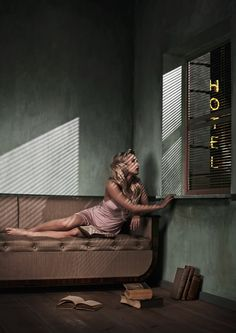 The Americans - Looking Out the Hotel Room Window by Yoram Roth, via 500px