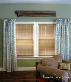 How-To's on making your own curtains