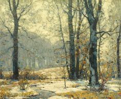 """Winter Morning Mists"" by John Fabian Carlson"