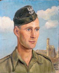 Wlastimil HOFMAN ,Portret Steffena Augustyna*, 1942, olej, płyta, 46 x 38 cm