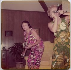 Madge and Thelma playing 8 tracks by -Snapatorium-, via Flickr