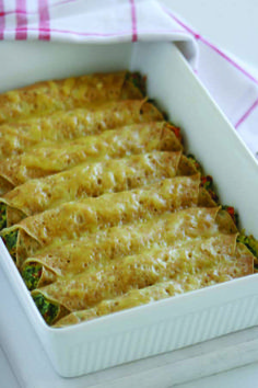Spinach & Ricotta Crepes  #CreativeGourmet #recipe