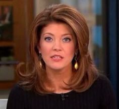 Norah O'Donnell. Such a beautiful women. I love watching ...