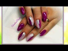 красивый маникюр с рисунком на любой вкус … wunderschöne Maniküre mit einer Zeichnung für jeden Geschmack Luxus-Nageldesign für … Cute Nail Art, Cute Nails, Pretty Nails, Classy Nail Designs, Cool Nail Designs, Pastel Nails, Purple Nails, Glam Nails, Beauty Nails