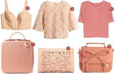 Rebellious yet Romantic - Fashion - Pretty in pink - tops h&m mango pink bags asos topvintage vintage edith ella