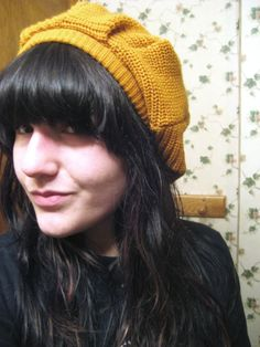 hat tutorial (from an old sweater)