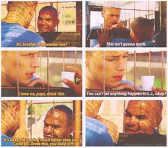 (gif set) Sucre is just awesome. And I love how he called Michael brother. That was so cute and sweet. This friendship man.... :)
