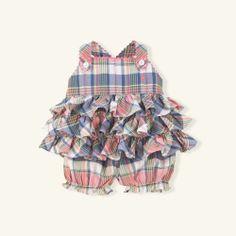 Madras Dress & Bloomer Set on shopstyle.com