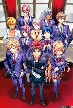 SHOKUGEKI NO SOMA CHAPTER 121 read this at mangafreak.net #manga #mangafreak #SHOKUGEKINOSOMA