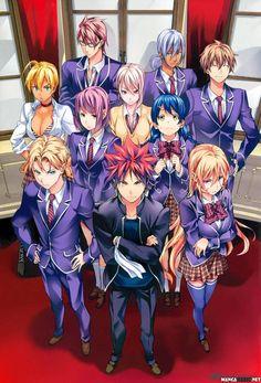 SHOKUGEKI NO SOMA CHAPTER 121 read this at mangafreak.net #manga #mangafreak #SHOKUGEKINOSOMA