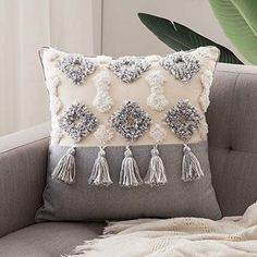 Boho Throw Pillows, Boho Cushions, Throw Cushions, Throw Pillow Cases, Decor Pillows, Bohemian Pillows, Cushion Cover Designs, Cushion Covers, Decorative Pillow Cases