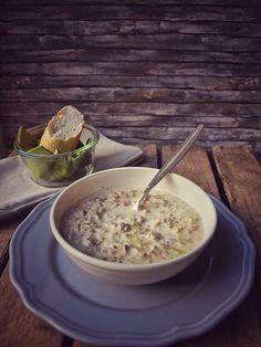 Lauch Hackfleisch Suppe