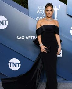 2020 SAG Awards: See all the stars on the red carpet - David Fisher/Shutterstock Strapless Dress Formal, Formal Dresses, Sag Awards, Jennifer Lopez, Fisher, Red Carpet, David, Stars, Fashion