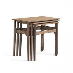 Classic Danish Nesting Tables Set