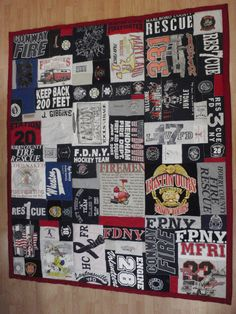 Tshirt Quilt, Memory Quilt Blanket, Custom made with YOUR T shirts