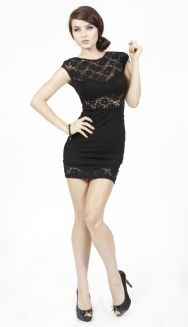 I love this dress by Angl. ♥ Lace Tank Dress. Front.