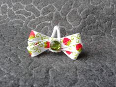Strawberry baby bow! #cofbeads