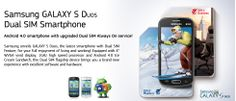 Last 4 seats, Rs. 1,500/- only for Samsung Galaxy S Duos S7562. GRAB YOUR SEAT NOW!! http://www.dealite.in/Auction/Samsung-Galaxy-S-Duos/DEAL09111994  * Original, box packed and with 1 Year manufacturer's warranty (Samsung india) * Android v4.0 (Ice Cream Sandwich) OS * 5 MP Primary Camera * 0.3 MP Secondary Camera * Dual SIM (GSM + GSM) * 4-inch TFT Capacitive Touchscreen * 1 GHz Cortex-A5 Processor * FM Radio * Wi-Fi Enabled * Expandable Storage Capacity of 32 GB