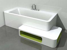 Corner Rectangular Bathtub UnopuntoZero Collection By LASA IDEA | Design  CMT Architetti