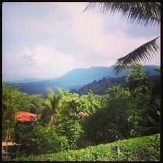 Mountain View in Domincal, Costa Rica