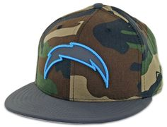 San Diego Chargers Camoflect 59Fifty Fitted Hat by New Era @ BILLION CREATION