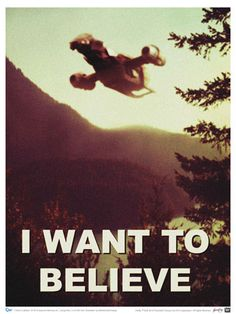 """Firefly """"I Want to Believe"""" Poster"""
