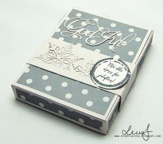 kaBoks: Litt sjokolade i julen. Christmas Paper Crafts, Boxes, Album, Tips, Crates, Box, Cases, Card Book