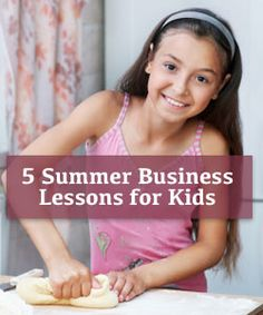 """5 Things Kids Can Learn from Starting a Summer Business"" on Virtual Learning Connections http://www.connectionsacademy.com/blog/posts/2013-06-24/5-Things-Kids-Can-Learn-from-Starting-a-Summer-Business.aspx #Summerjob #onlinelearning #summerlearning"