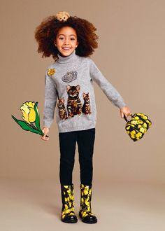 Dolce & Gabbana Children Girl Collection Fall Winter 2016 2017   Dolce &…