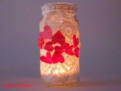 i pasticci di dani: lanterna per San Valentino - tutorial