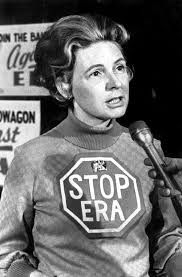 #KnowTheEnemy - Last week, Donald #Trump had Phyllis Schlafly on the stage to introduce and endorse him. The media failed to identify her, but women who lived in the 1970's and 80's knew exactly who she was...a woman who had decided that the E.R.A. was a bad idea and spent her career trying to convince women they were 2nd place citizens.   http://nomadicpolitics.blogspot.com/2015/01/phyllis-schlafly-queen-of-conservatism.html