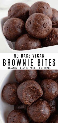Easy Baking Recipes, Vegan Sweets, Healthy Dessert Recipes, Baking Snacks, Simple Snack Recipes, Yummy Vegan Snacks, Vegan Snacks On The Go, Simple Snacks, Quick Recipes