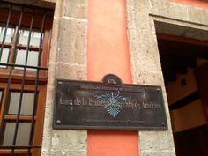 La primera imprenta de América fue fundada en 1539 por Giovanni Paoli. Visiítala en el Centro