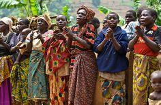 Twa (Pygmy) Women Singing  Uganda