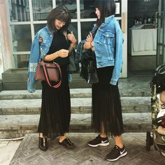 welcome to korea❤️  大好きな @yu_yamada_  来てくれて めっちゃ めっちゃ 嬉しすぎる💕  しかも 偶然同じスタイル  姉妹だね👯盛り上がるよ♡