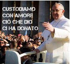 """""""Custodiamo con amore ciò che Dio ci ha donato"""" Papa Francesco. Queste parole, pronunciate dal #Papa all'omelia di inizio del pontificato, hanno un significato tutto particolare, se declinate nella vita di una #mamma!"""